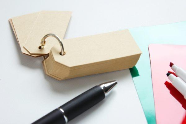 暗記帳とペン