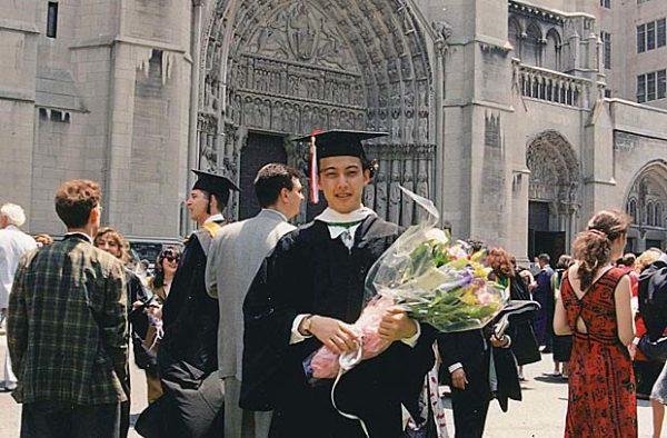 Akkyの大学卒業写真