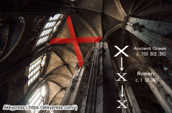 アルファベットXの起源